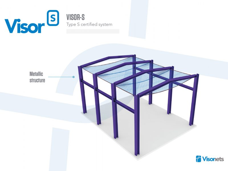 Safety Net Type S – Metallic Structure – VISOR-S