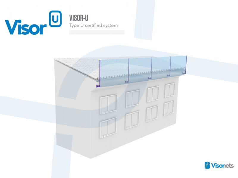 Safety net Type U System – Visor-U