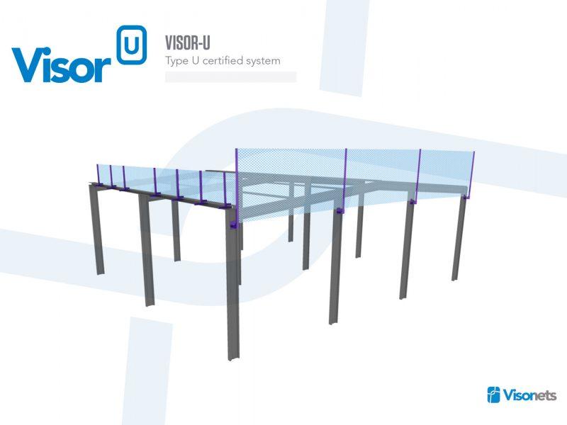 Safety net fan Type-U – Visor-U