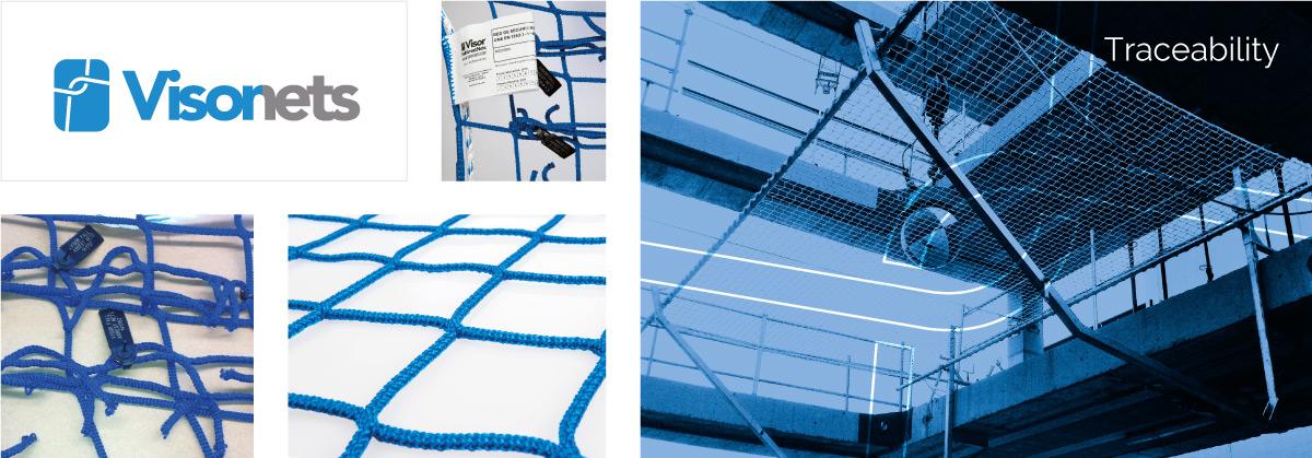Traceability - VISORNETS - Fall arrest nets